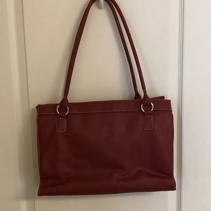 Alfred Dunner Red Purse